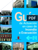 Guía Actuación Caso Incendio Evacuación - Guía Completa