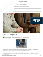 7¿Qué Es Discipular_ _ Discipulados