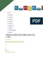 topico de instalacion electrica