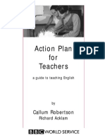 Action plan for teaching eng