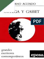 Aguado Emiliano - Ortega Y Gasset