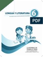 Cuaderno de Trabajo Literatura 6to