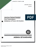 AGMA 1012-F90