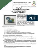 Consurso Robots 2015