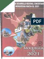 Plan de Desarrollo Regional Concertado - Moquegua Al 2021