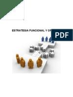 Estrategia Funcional y Operativa Real