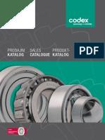 Codex - Katalog Odabir Ležajeva