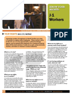 Know Your Rights - Template-J-1 WORKERS