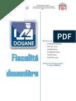 Ficalité Douanière