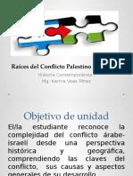 Raíces Del Conflicto Palestino Israelí