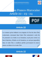 Convention Fiscale Franco-Marocaine