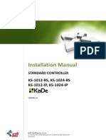 Instalallation Manual Controllers KS 1012_24 RS_IP