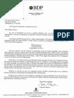 Warehouse Tax Letter - Senate Office