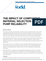 The Impact of Component Material Selection on Pump Reliability - WaterWorld - 10-11-16