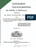 Diccionario Geografico-estadist - Sebastian de Minano Y Bedoya