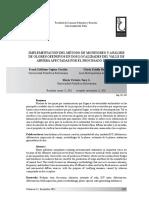 Implementacion Del Metodo de Monitoreo y Analisis de Olores Ofensivos en Dos Localidades Del Valle de Aburra Afectados Por El Procesado de Sebo-2011