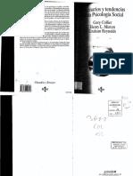 Collier y Minton 1996 Escenarios y Tendencias en Psicología Social 1