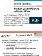 Supplier APQP Training Supplement