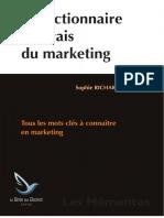 Le Dictionnaire Francais Du Marketing