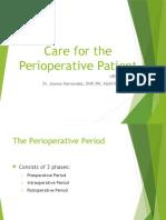 Care for Perioperative Patient