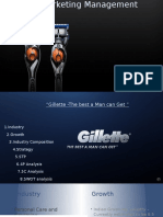 Marketing Management – Gillete