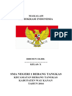 Makalah Pkn Demokrasi Di Indonesia