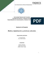 Proyecto Transmedia- El Río - Aristimuño-Carrión-Sigot
