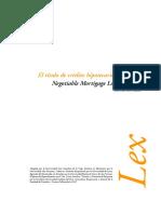Titulo de Credito Hipotecario Negociable Pèru