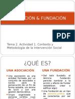 Asociacion y Fundacion