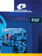 Manual Técnico Lubricantes PETROCOMERCIAL