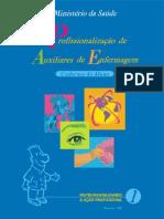 Profae Apostila 1 - Anatomia e Fisiologia - Microbiologia e Parasitologia - Psicologia Aplicada