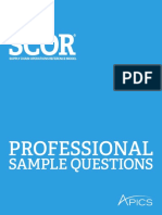 Scor p Sample Questions
