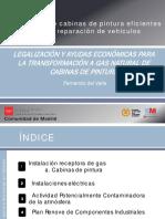 5 Legalizacion y Ayudas Economicas Para La Transformacion a Gas Natural de Cabinas de Pintura Dgiem Fenercom 2014
