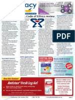 Pharmacy Daily for Wed 12 Oct 2016 - PSA Code of Ethics review, TGA NSAID warning update, Ego takes out export award, Health AMPERSAND Beauty and much more