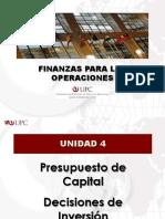 Presupuesto de Capital - Decisiones de Inversión