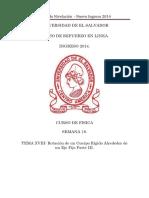 Material Tema18 de Fisica. Unidad 9 Rotación de Un Cuerpo Rígido Alrededor de Un Eje Fijo Parte III Version PDF