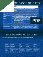 Curso EDUTEKNO SQL SERVER 2005 2.- Creación de Tablas y Tipos de Datos