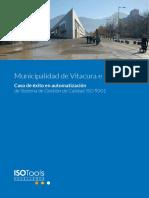 Municipalidad Vitacura Automatizacion Iso 9001 Sector Publico