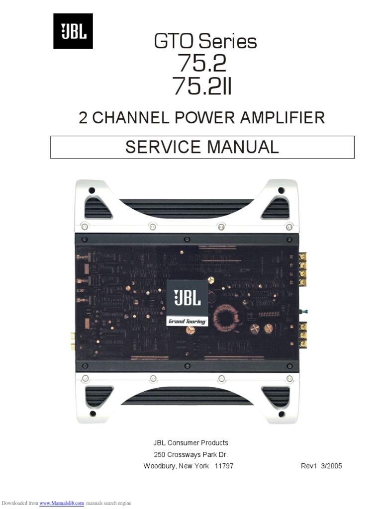 gto_752 | Loudspeaker | Amplifier