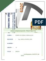 DESARENADOR- PROYECTO CHAVIMOCHIC