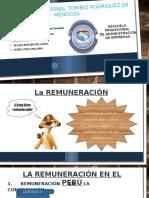 La Remuneración en El Perú