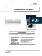 F63 Series Liquid Level Float Switch