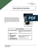 F63 Series Liquid Level Float Switch