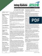 WSU Bargaining Update 6/4/10