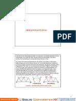 Armadura Planas - Análisis Estructural