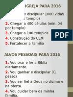 Alvos da Igreja