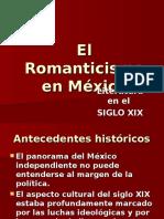 El Romanticismo en MÈXICO