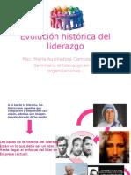 Evolución Histórica Del Liderazgo m.A
