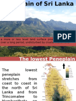 Peneplain of Sri Lanka