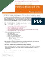 CA Enrollment Form
